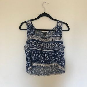Forever 21 patterned tank top
